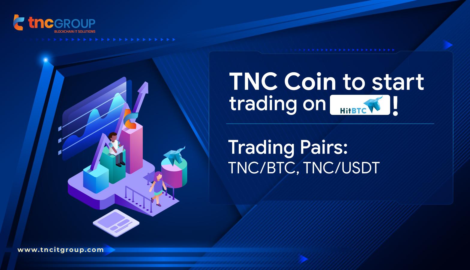 TNC Coin now accepted on Hitbtc