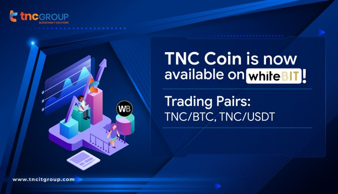 TNC Coin is now available on WHITEBIT